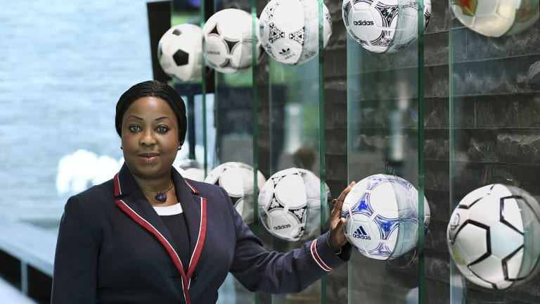 Fifa Secretary General installed into world Women's Forum Hall of Fame