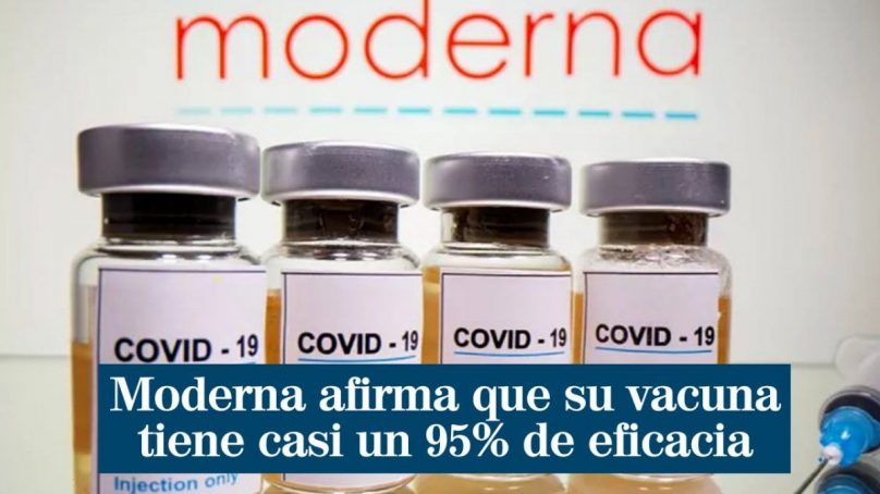 Covid vaccine excitement builds as Moderna reports third positive result