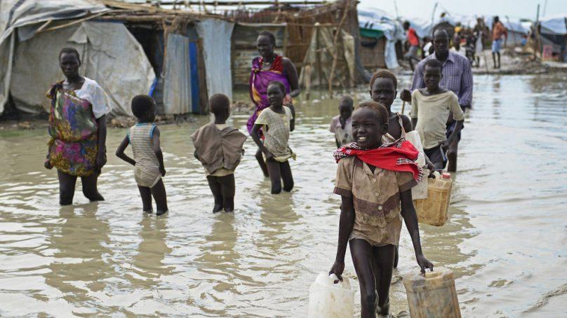 ADB donates $440,000 to South Sudan and Sudan flood victims