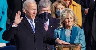 Biden at his inauguration: Politics doesn't have to be a raging fire