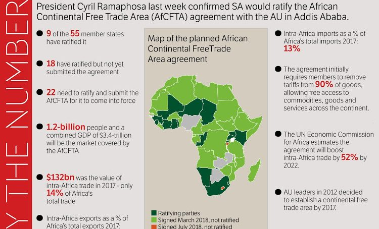 African Free Trade Area now the largest free trade zone in the world 'by participation'