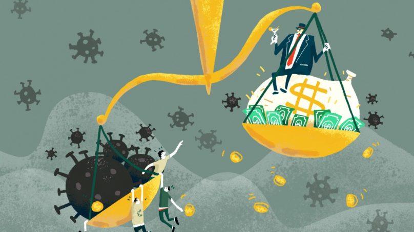 HRW: Fighting inequality central to post-coronavirus economic recovery