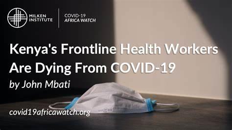 Helpless African frontline health workers die as rich countries stock up vaccines