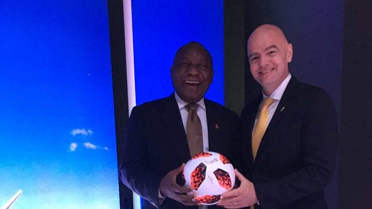 African Union, Fifa pledge to enhance collaboration in sports and education