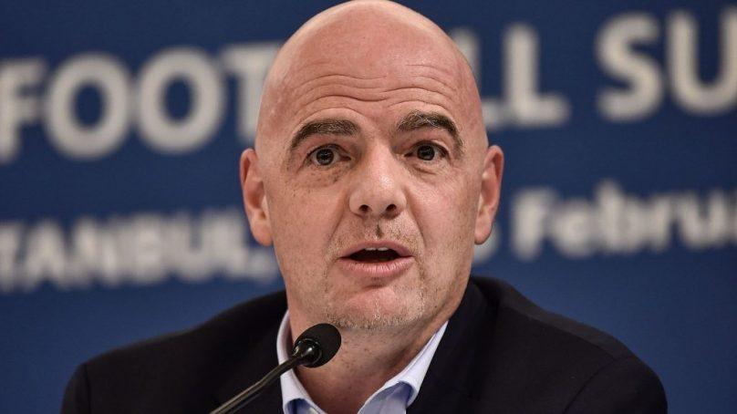 Fifa president inaugurates regional development office in Congo Brazzaville