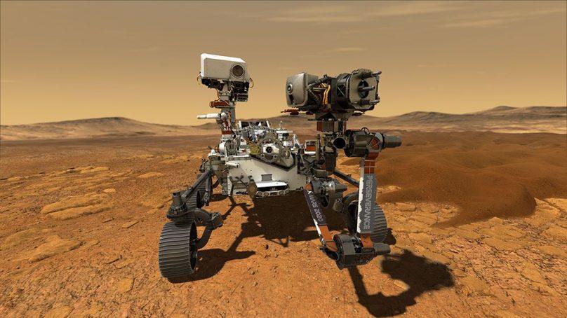Scientists celebrate Perseverance Rover's daring touchdown into Mars' Jezero Crater