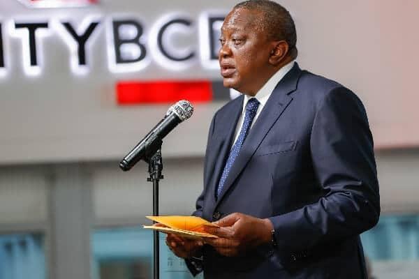 Kenya's President Kenyatta commissions new Equity-BCDC bank in Kinshasa