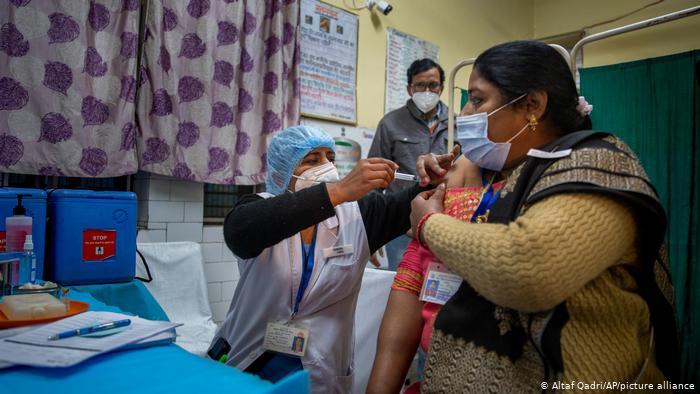 India's coronavirus explosion  puts vaccine supplies at risk