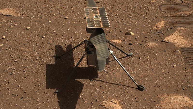 Mars lift off: First flight on another planet as Ingenuity drone takes off