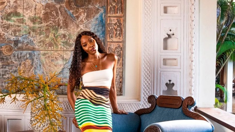 Is British supermodel Naomi Campbell preparing to resettle in Kenya?