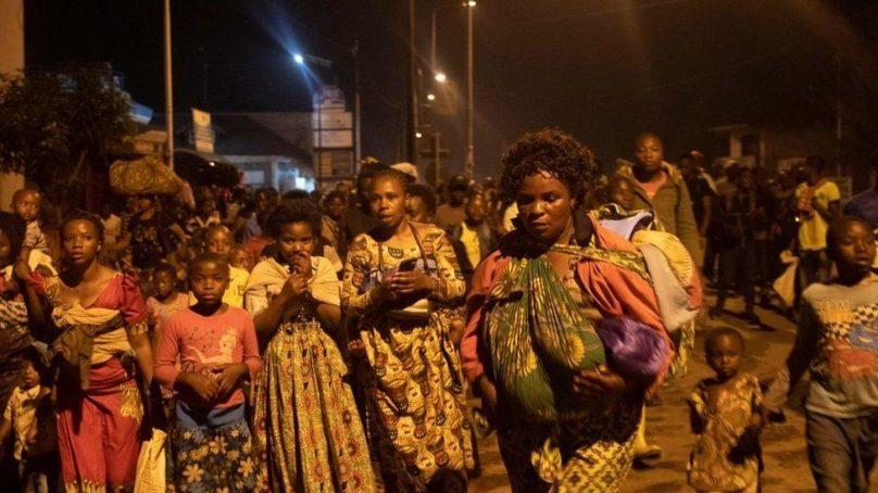 DR Congo government struggles to rescue citizens in Goma as Mt Nyiragongo volcano erupts