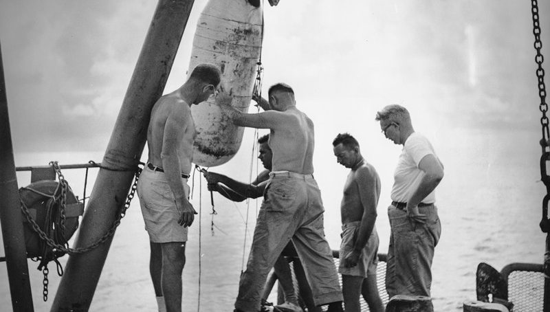 When sea science needed money, Navy loosened purse strings and discoveries followed!