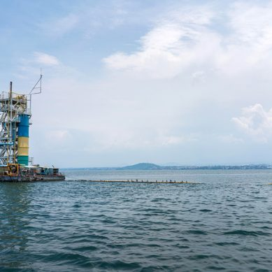 With over four million people living around it, Lake Kivu a potential deadly natural disaster