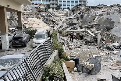 Collapsing Miami building in US kills one after explosion, 99 missing