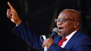 South African court orders former President Zuma to jail for contempt