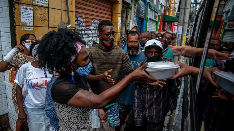 After spells of food security, Brazil's growing numbers of hungry people worries WFP