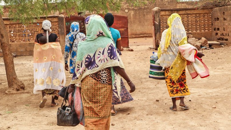 Burkinabe women displaced by Islamist militants tell of how they pay for food with 'survival sex' in UN camps