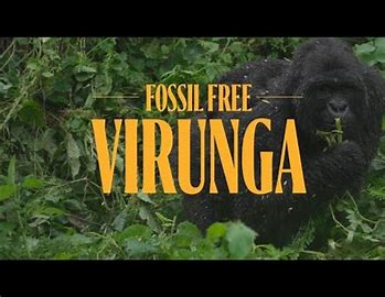 Climate activists oppose oil exploration, call for a fossil free Virunga in new film