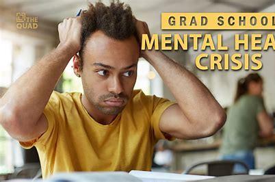 Graduate student mental health: Boundaries between work and life are blurred, self-care's key