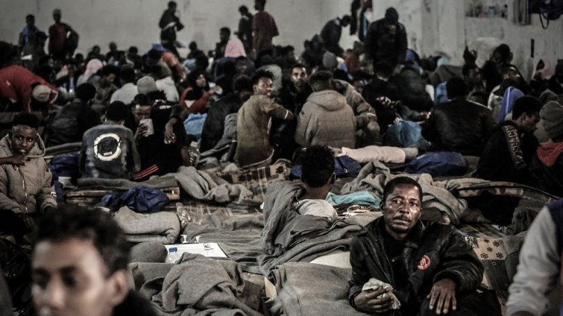 Horrors: African asylum seekers in Libyan detention camps 'lucky to survive from Zintan'