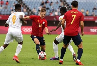 Olympics: Spain pump three past Ivory Coast in extra time to reach soccer semis