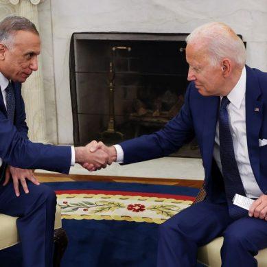 President Biden, PM Kadhimi seal deal to end US combat mission in Iraq