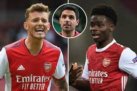 Manager Arteta sought winger Saka's opinion on Ben White as he tries to seal Arsenal's leaky defence