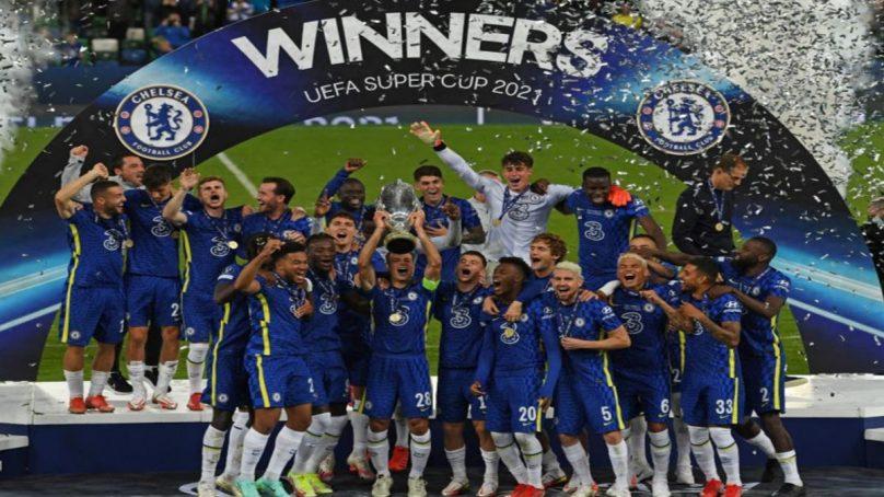 Striker Lukaku watches as new club Chelsea toils to overcome Villareal on post-match penalties