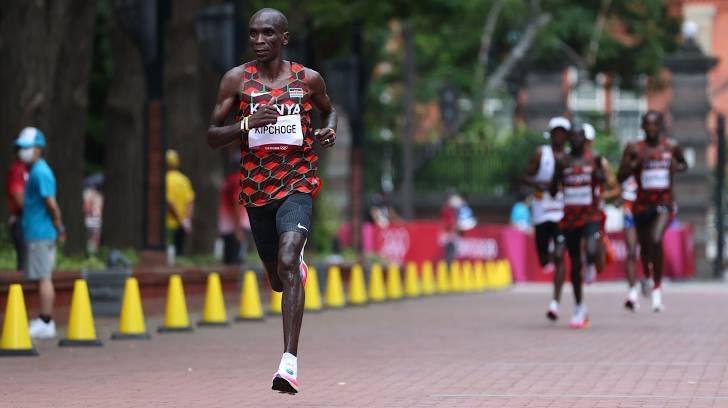 Marathon king Eliud Kipchoge returns home, shuns talk of retiring after Olympics gold