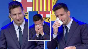 Messi's tearful farewell: I never imagined having to say goodbye because I never thought of it