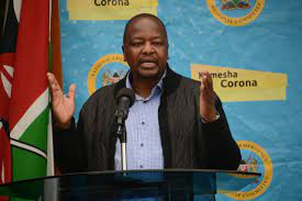 Kenya minister Covid warning: If you fall sick today, you will not get a hospital bed
