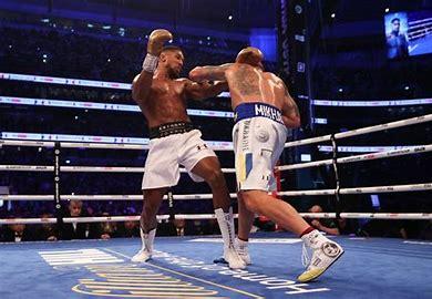 Dethroned world heavyweights champion AJ already talking rematch with Ukrainian tormentor