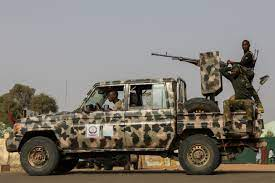 Nigeria's Zamfara state endures telephone blackout as military battles armed gangs