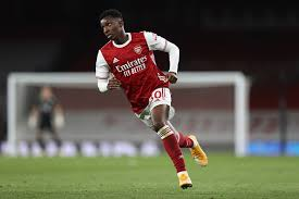 Arsenal forward Eddie Nketiah faces season without playtime, risks being forgotten completely