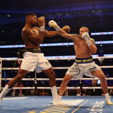Usyk rocks world heavyweight king Anthony Joshua to grab crown before stunned home crowd