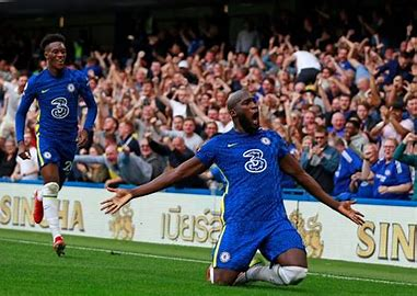 It's Romelu Lukaku again with headed goal in Chelsea's win against Zenit St Petersburg