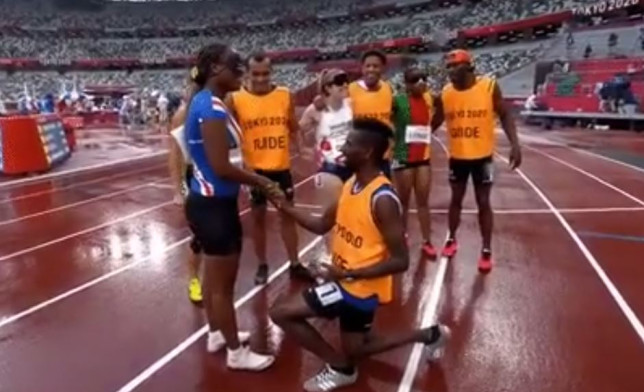 Paralympian Keula Semedo missed out 200m gold, but sprinted into the heart of her man – forever!