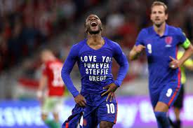 Raheem Sterling's steel on show as he laughs off racist abuse to steer England past angry Hungarians