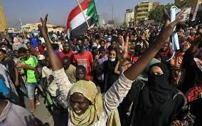 Protests rock Sudanese capital as international pressure piles on coup plotters to free ousted leader