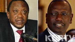 Wobbly: Economy hurting as Kenya's president and deputy trade accusations of graft in energy sector